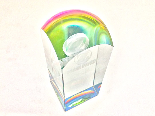 rainbow-siliver-plating-special-effect-award-gift-trophy-example-2