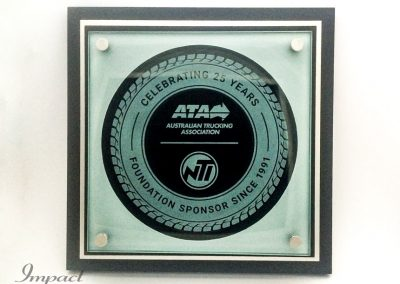 ATA Sponsorship Plaque
