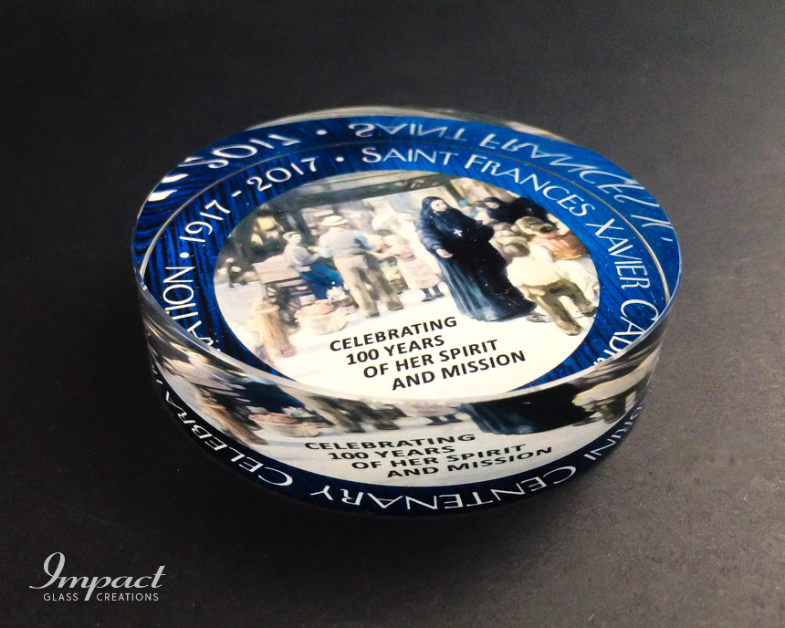 cabrini-church-crystal-glass-disc-paperweight-colour-print-3