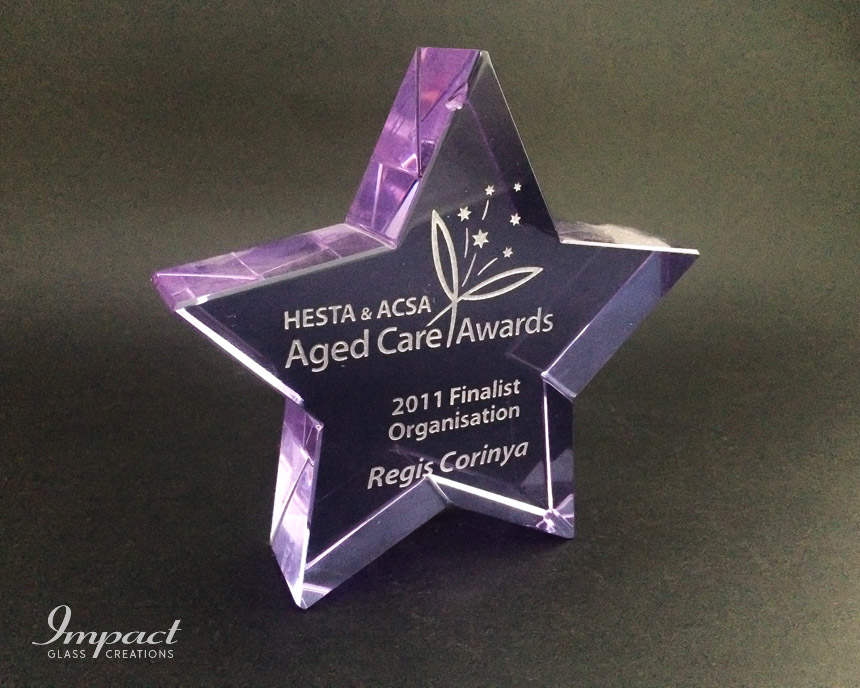 hesta-aged-care-star-crystal-glass-award-gift-purple-engraved