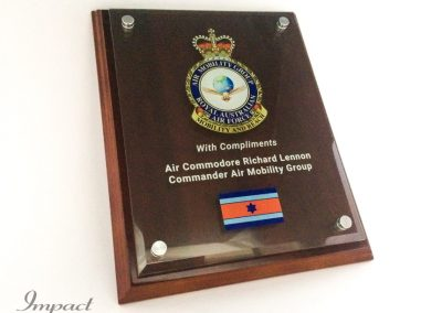 RAAF Presento Plaque
