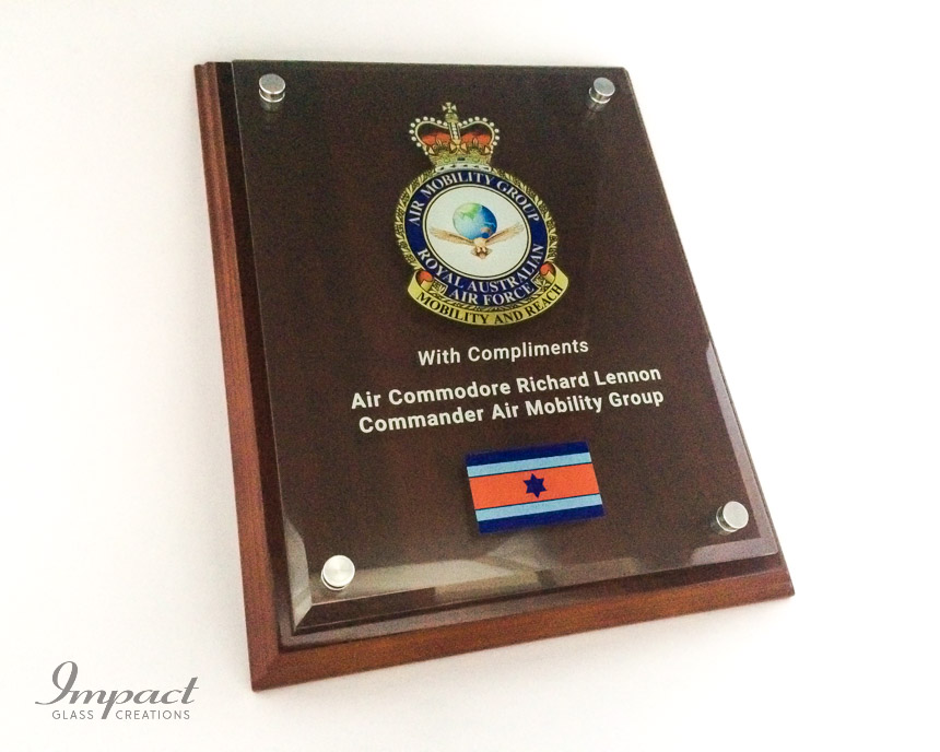raaf-appreciation-plaque-glass-acrylic-wooden-colour-print