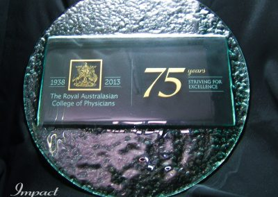 RACP 75 Years Commemorative Plaque