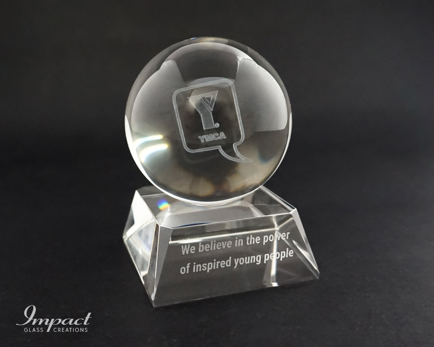 ymca-magnified-sphere-globe-crystal-glass-base-paperweight-gift-momento-2
