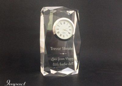 Diamond Anniversary Clock