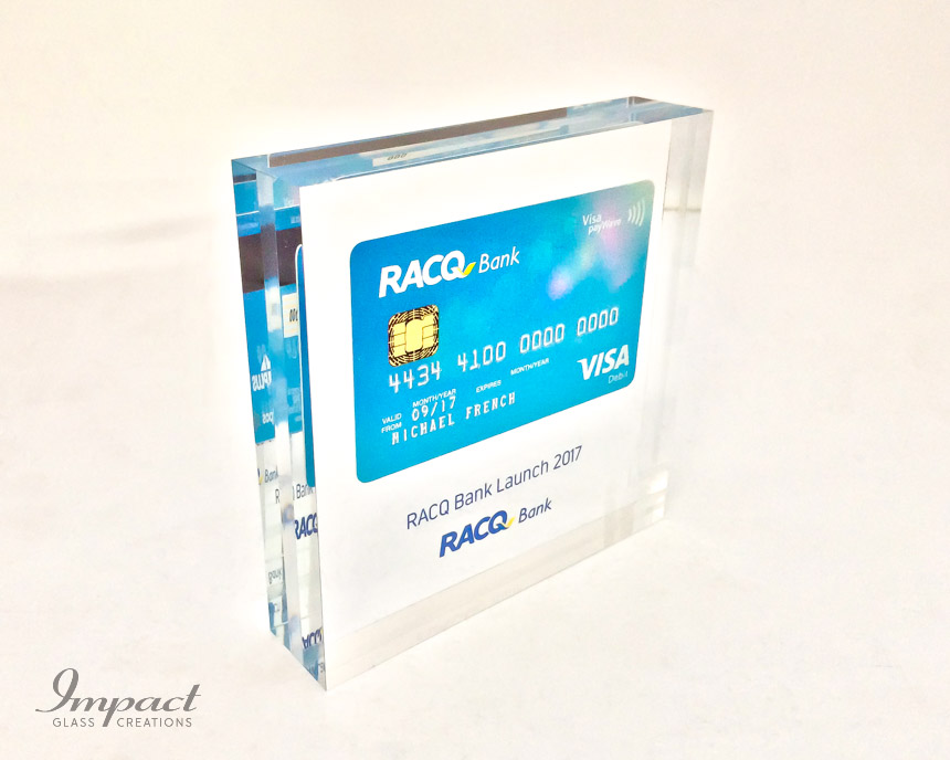 Embedded RACQ Bank Card