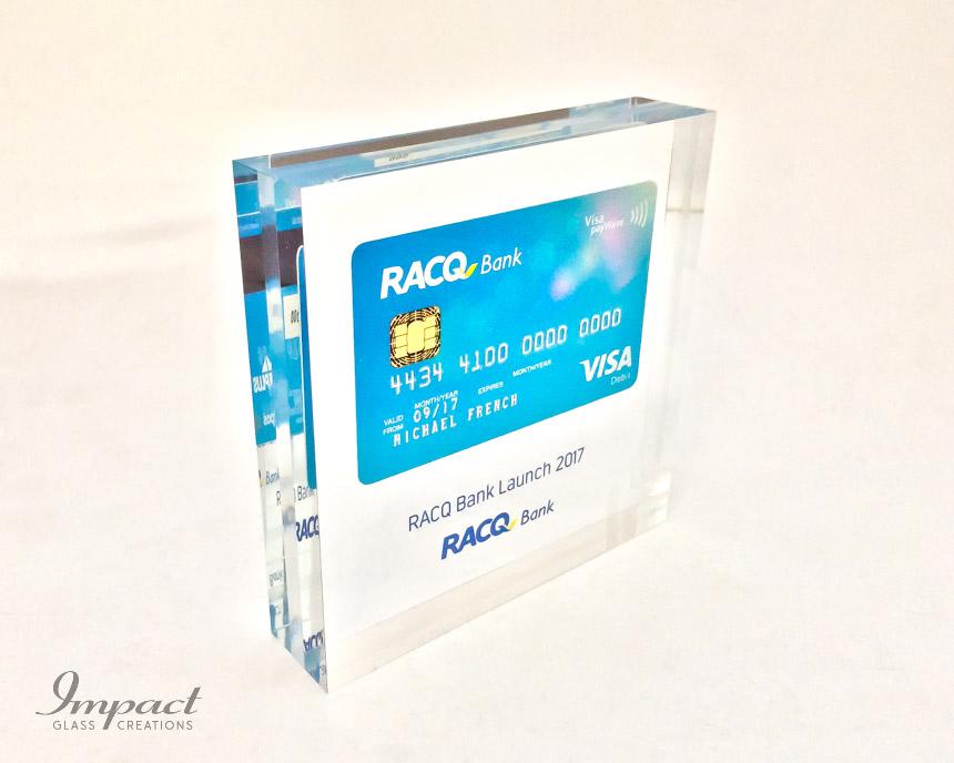 Embedded RACQ Bank Card