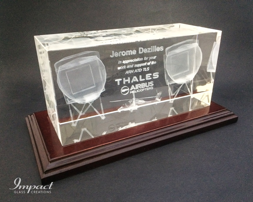 thales-appreciation-gift-glass-crystal-wooden-base-laser-engraved