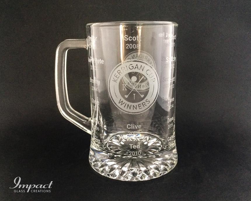 Golf Cup Beer Mug