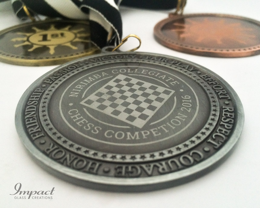 Collegiate Chess Medals