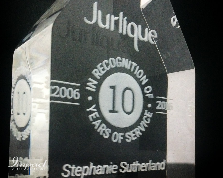 jurlique-years-service-award-cut-crystal-glass-wood-base-laser-engraved-4
