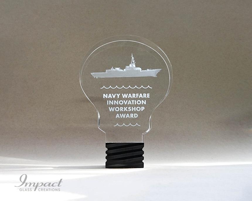 navy-innovation-lighbulb-shaped-crystal-award-4-min