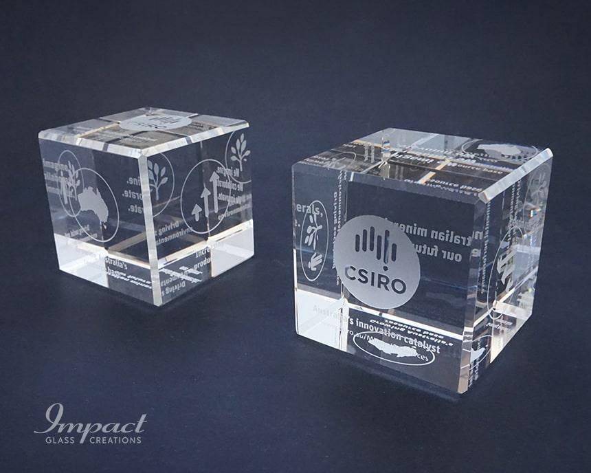CSIRO Cube Paperweight