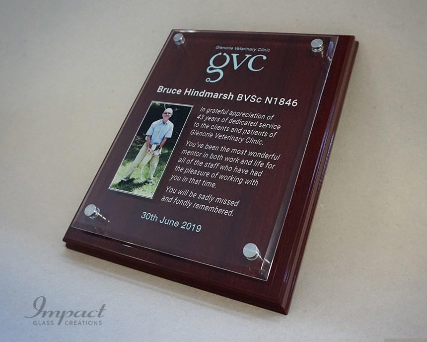 Glenorie Vet Service Plaque