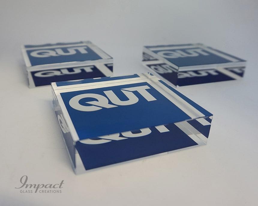 QUT University Paperweights