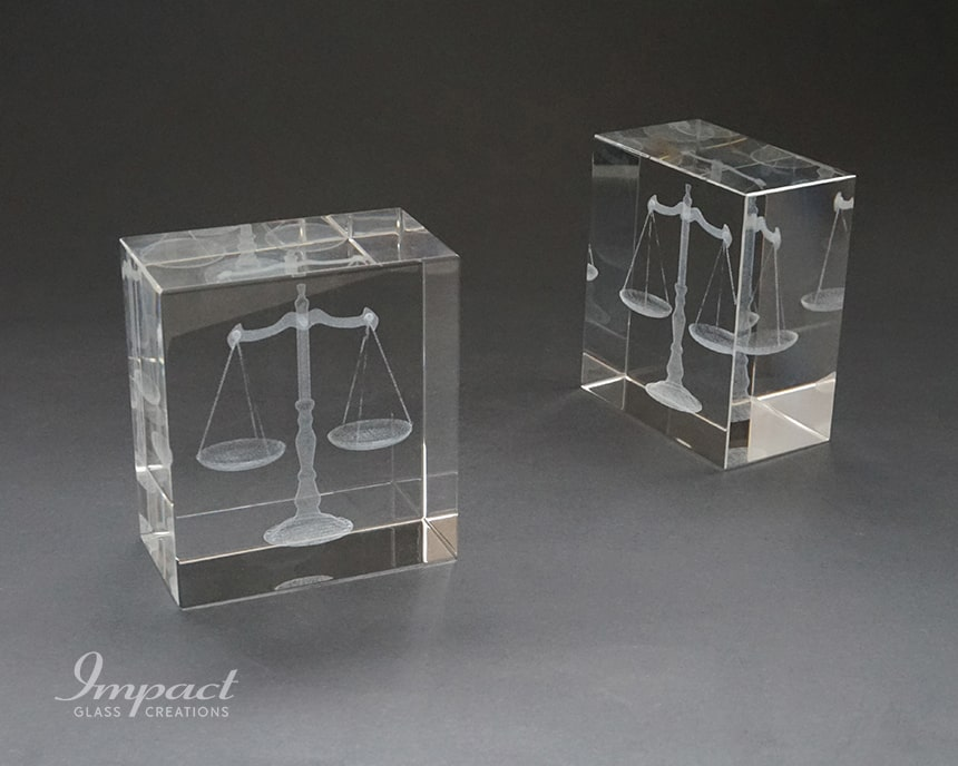 Scales of Justice Paperweight