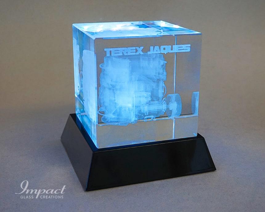 Terex 3D Machine Cubes