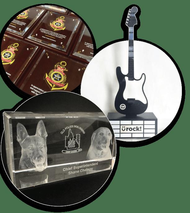 custom awards by impact glass creations