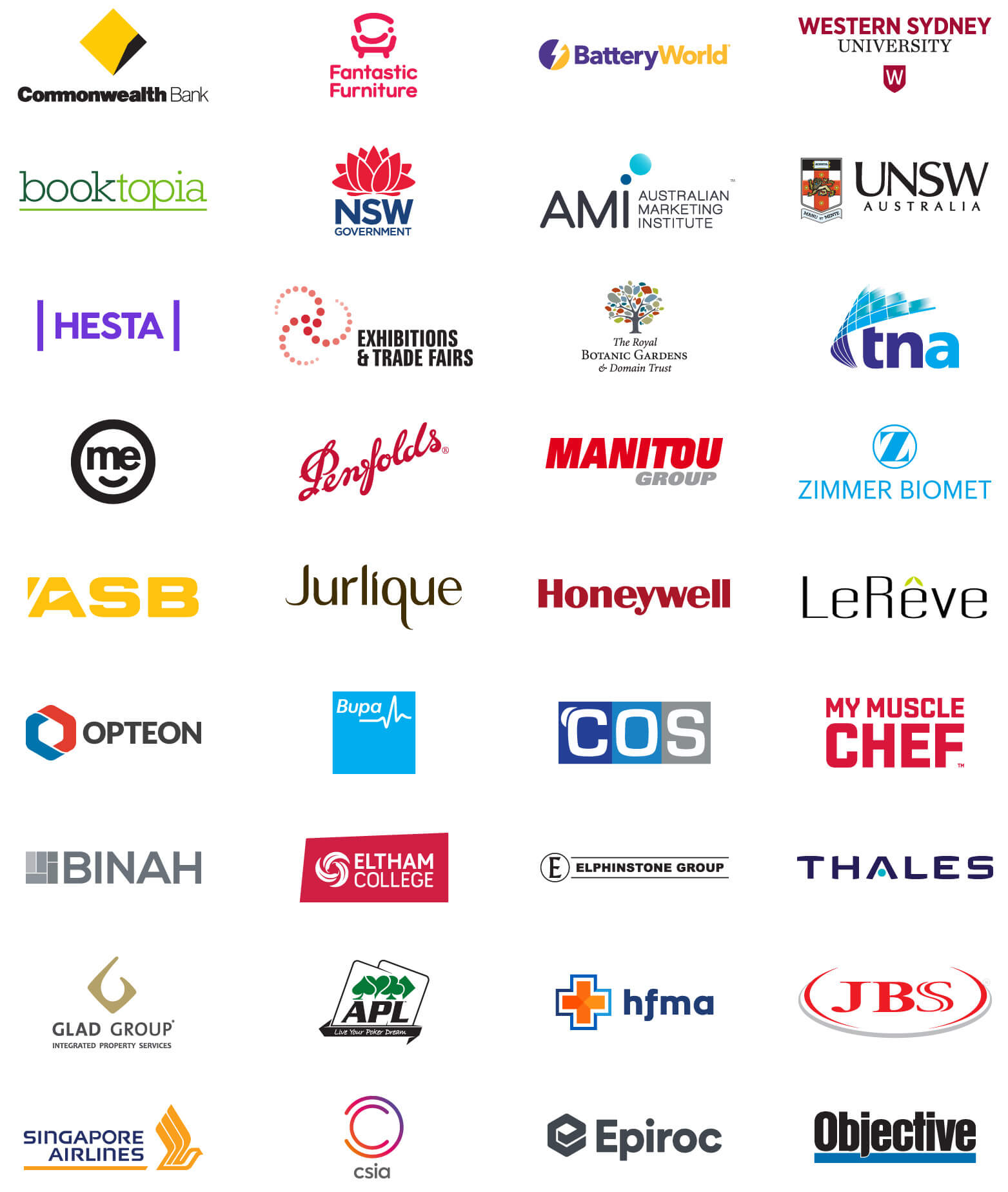 companies we've partnered with