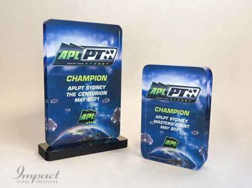 Sydney Poker Tour Competition Trophy