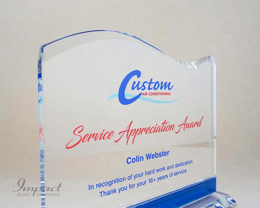 Best Custom Air Service Award