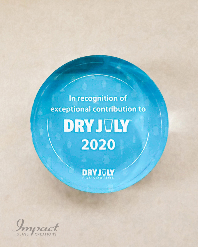 Best Dry July Paperweights Award