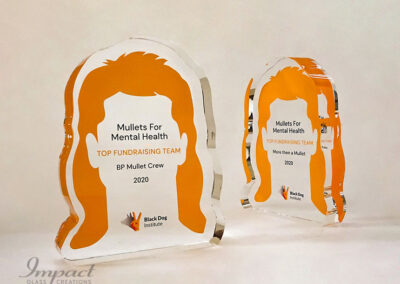 Mullets for Mental Health Award