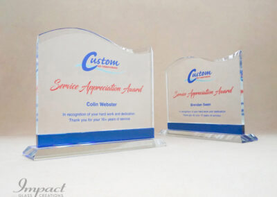 Custom Air Conditioning Years of Service Award