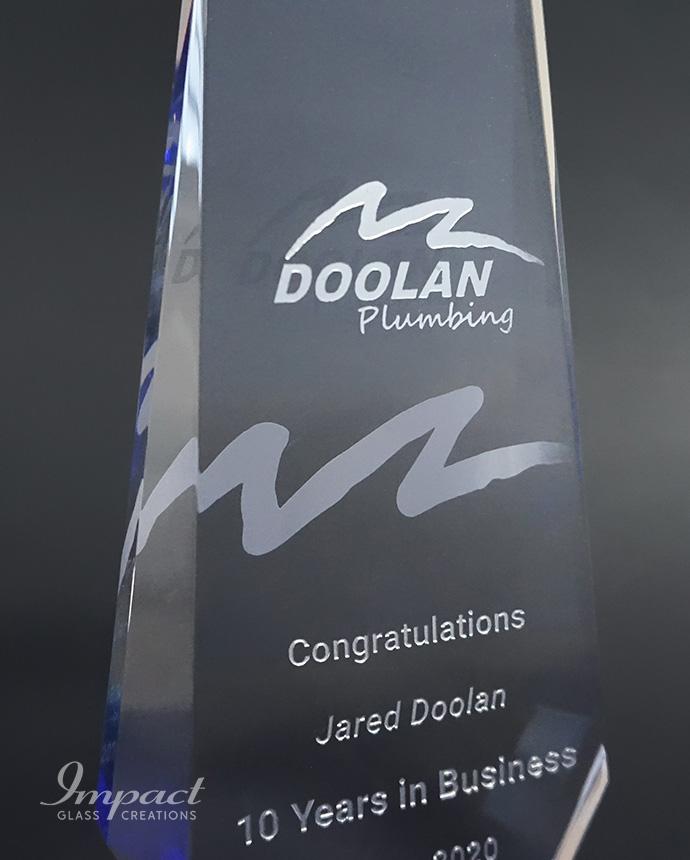 Doolan Plumbing Business Service Awards