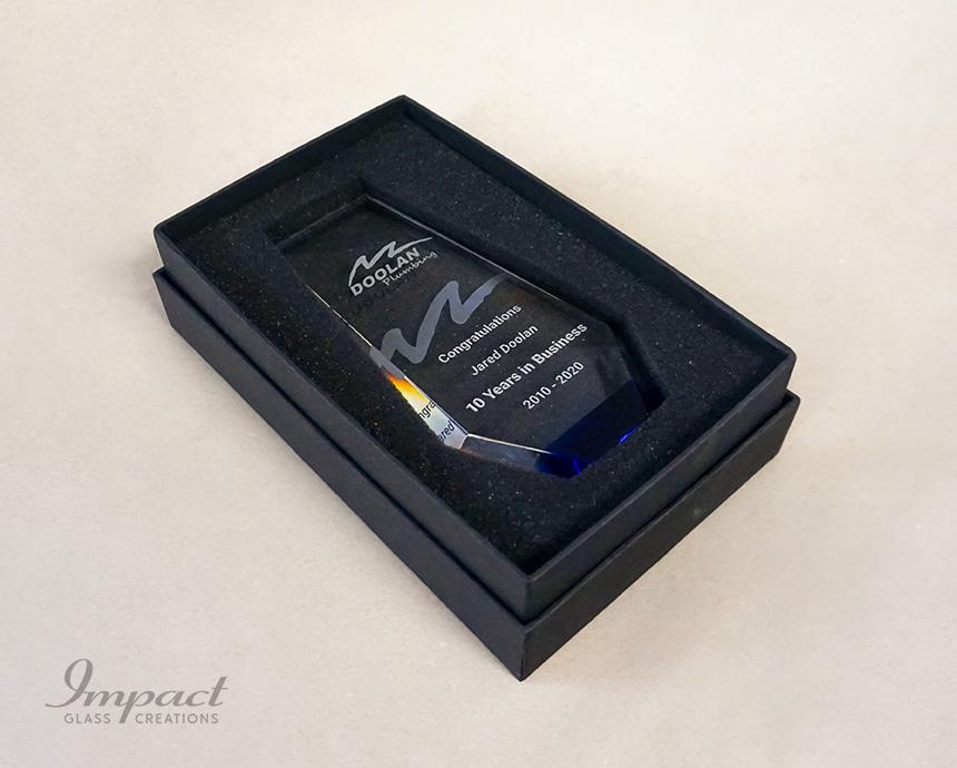 Doolan Plumbing Business Services Award