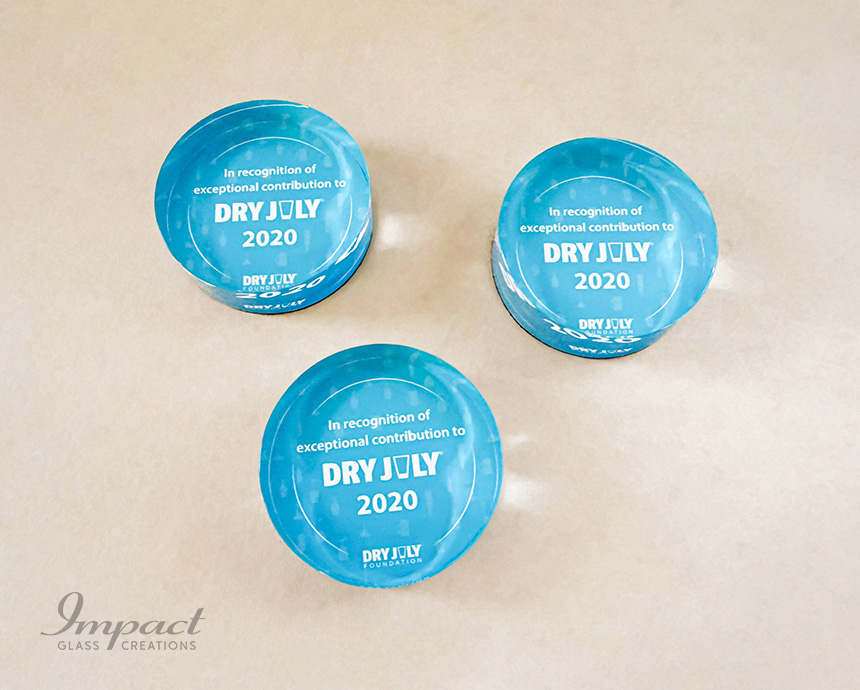 Dry July Paperweights Award