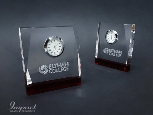 Eltham College Crystal Clock