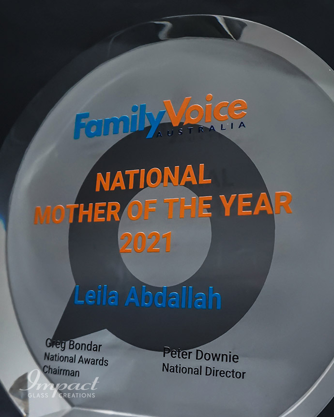 Family Voice Australia Mother Of The Year