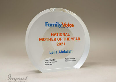 Family Voice Mother of the Year Award