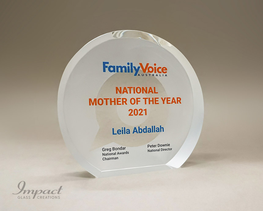 Family Voice Mother Of The Year