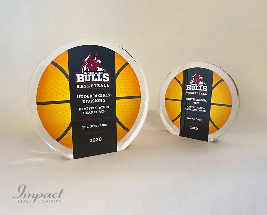 Inner West Bulls Basketball Team Award