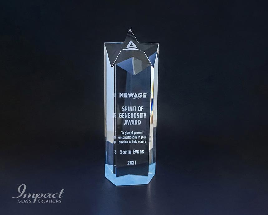 New Age Spirit Of Generosity Award